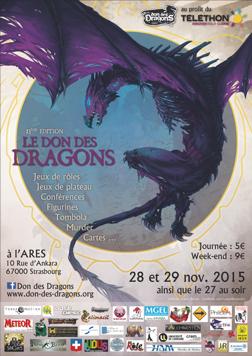 Don des Dragons 2015